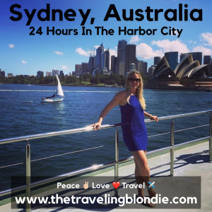 Sydney, Australia: 24 Hours In The Harbor City