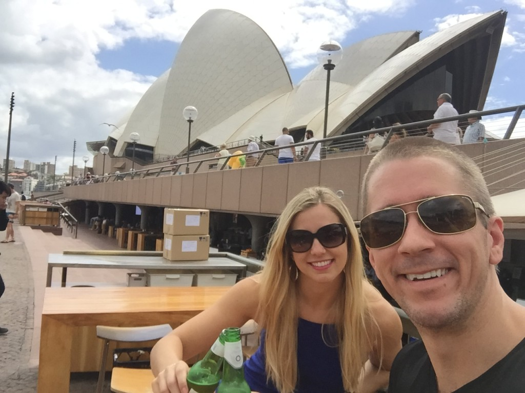 The Opera Bar in Sydney, Australia was our favorite spot during our visit.