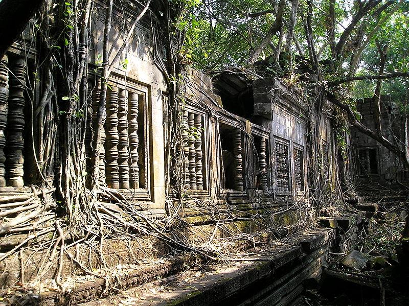 Beng Mealea in Siem Reap, Cambodia
