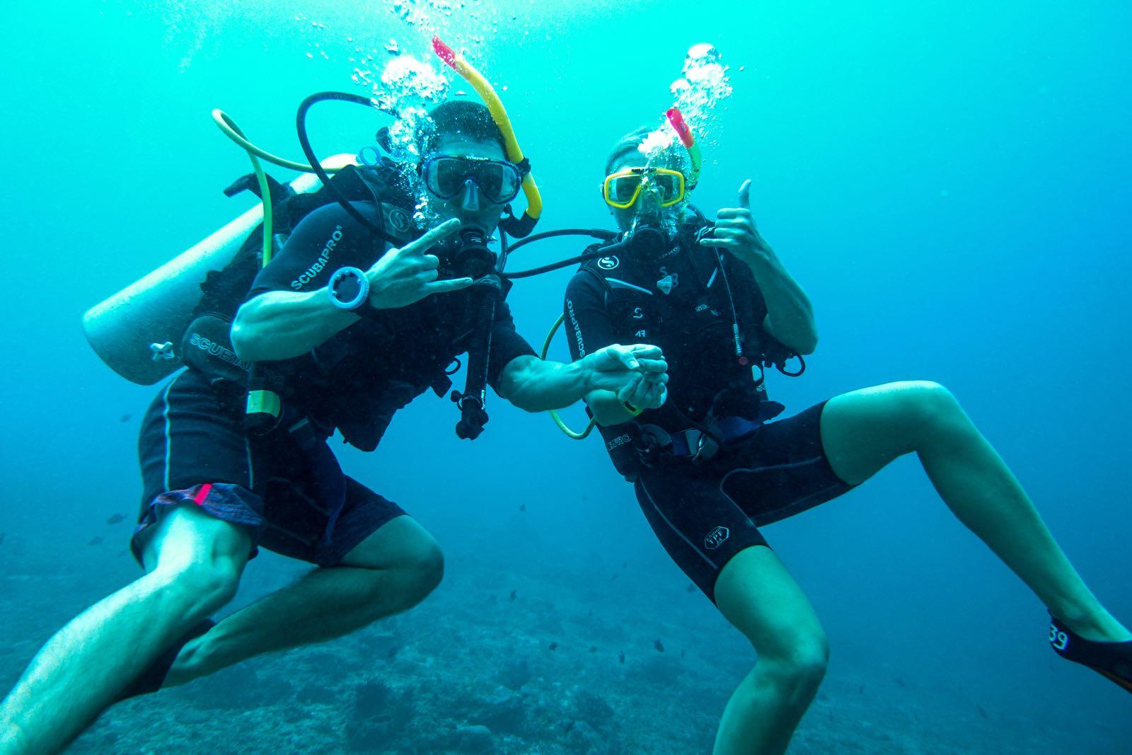 Diving in Gili Air