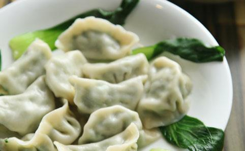 Dumplings are a local favorite in Beijing, China