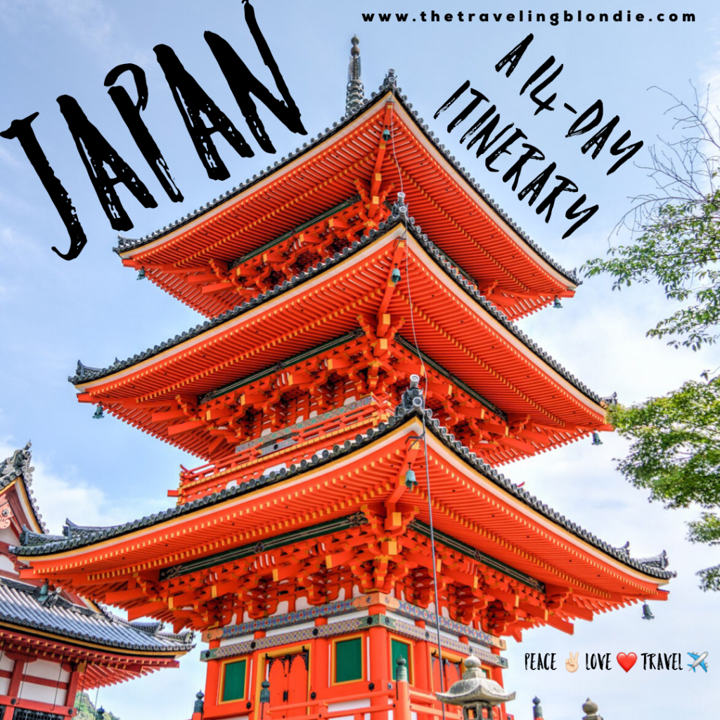 Japan: A 14 Day Itinerary