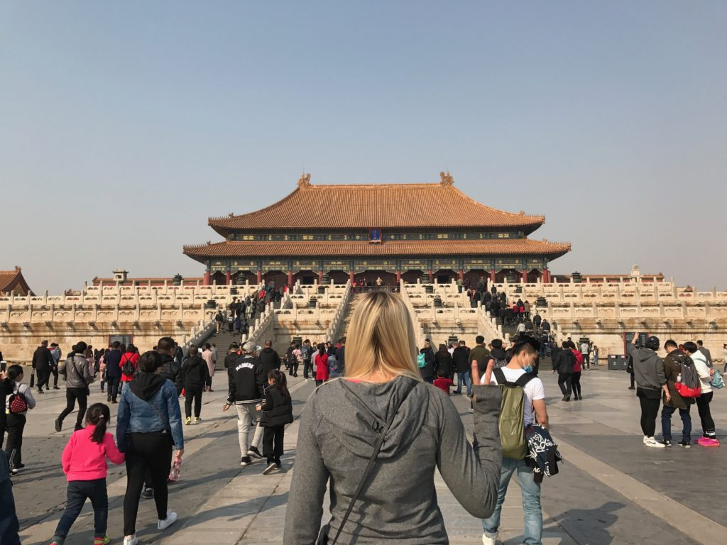 The Forbidden City is a massive site that is a MUST SEE while visiting Beijing, China