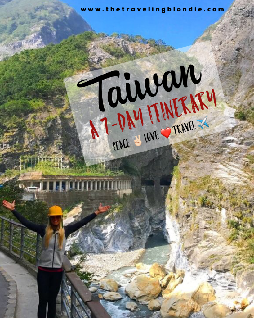 Taiwan: A 7 Day Itinerary