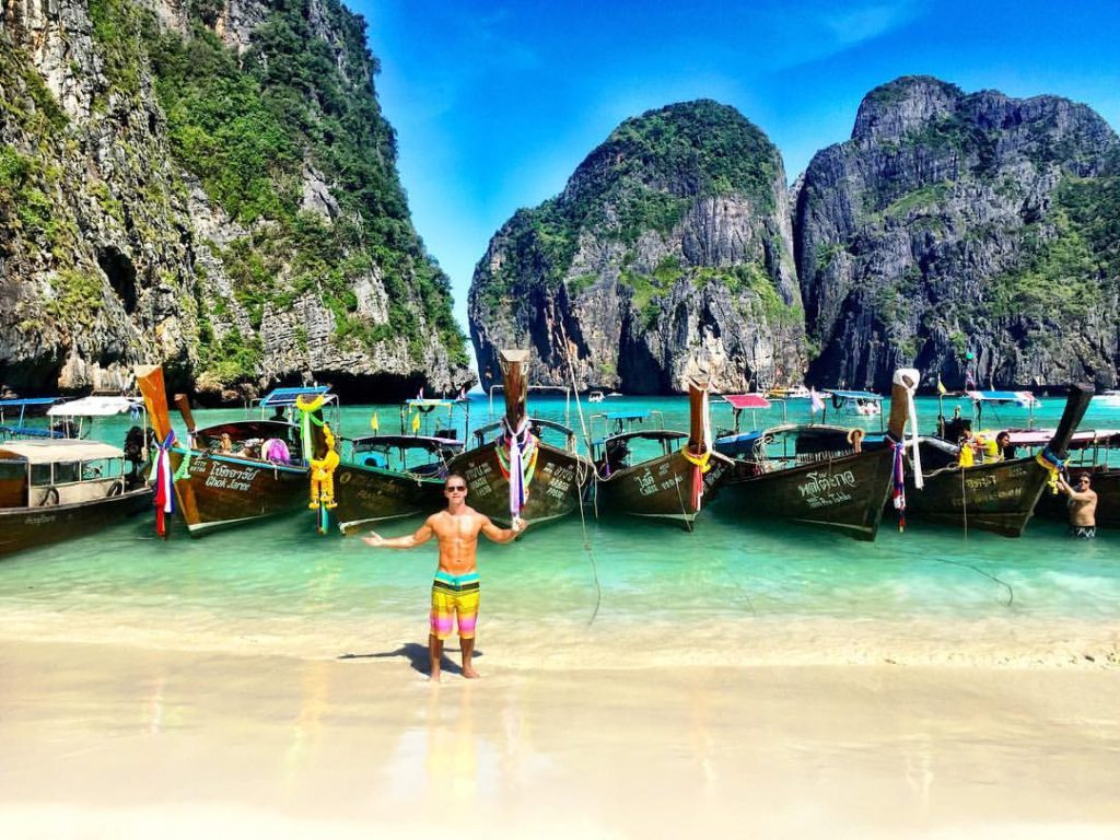 Top 10 Most Beautiful Beaches In Asia: Maya Bay, Phi Phi Island, Thailand