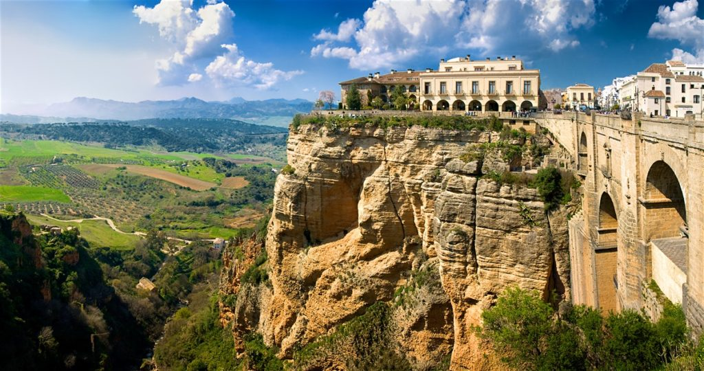 A MUST See City Near Malaga Is Ronda, Spain