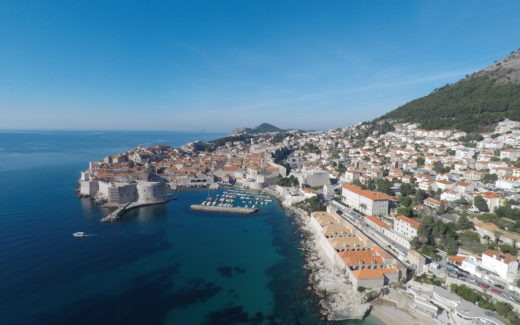 Dubrovnik, Croatia Drone Views From Above