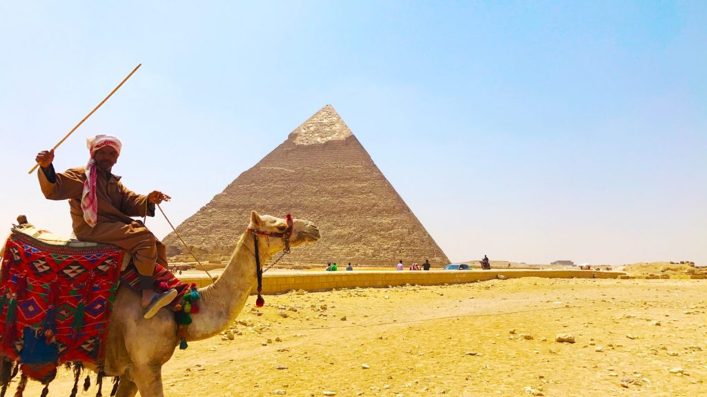 Egypt: Finding Inner Peace At The Pyramids