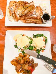 traveling blondie Islamorada Florida Keys green turtle inn breakfast