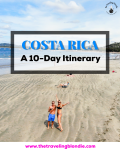 The Traveling Blondie-Costa Rica