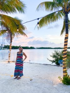 traveling blondie Lorelei restaurant Florida Keys