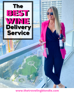 Traveling Blondie Best Wine in Miami