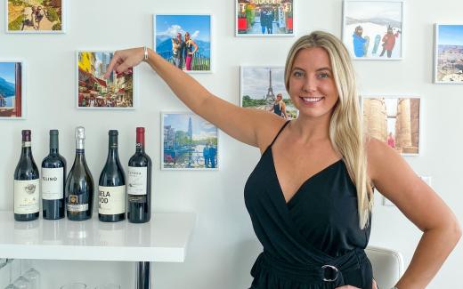 Traveling Blondie Best Wine in Miami